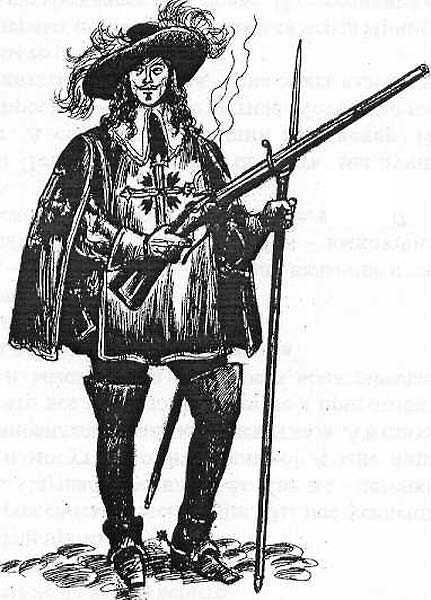 мушкетер в ботфортах