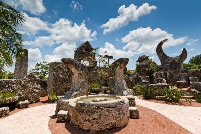 Коралловый замок во Флориде