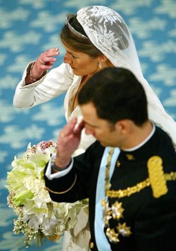 Свадьбы Летиции принцессы Астурийской и принца Астурийского Филипе