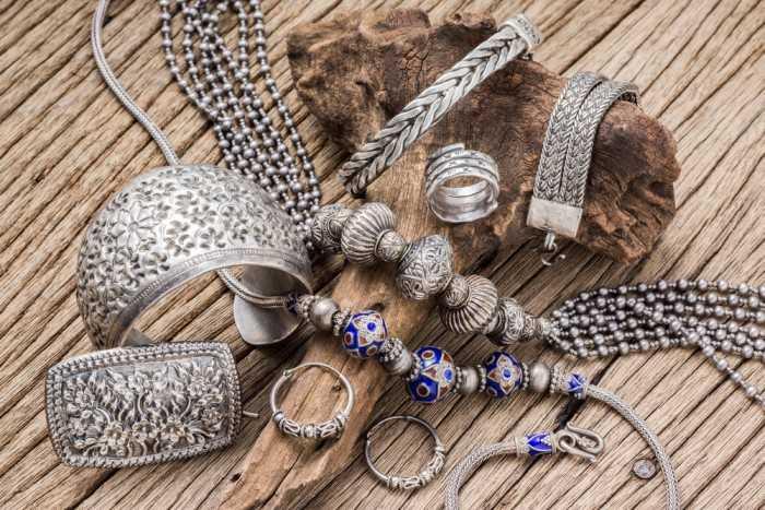 Серебренные украшения