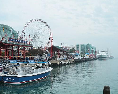 морской пирс Чикаго
