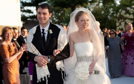 свадьба дочери Клинтон
