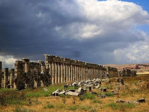 город Апамеа, Сирия