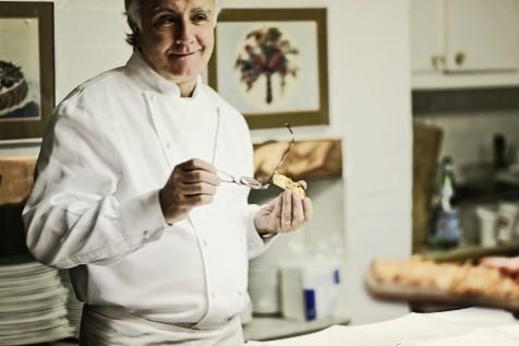 Алан Дюкас на ужине