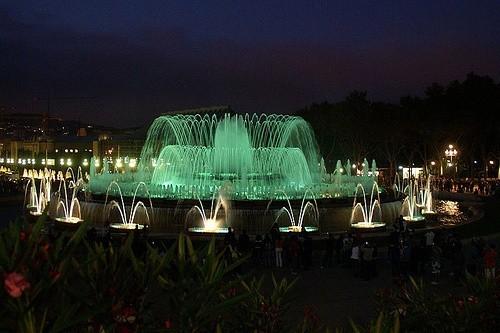магический фонтан Барселона