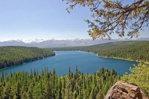 озеро Холланд Монтана