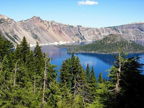 озеро Кратерное Орегон
