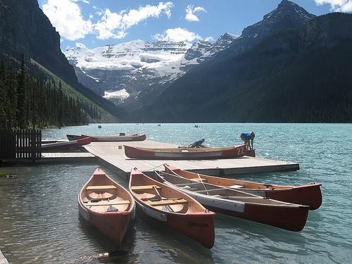 озеро Луиза Канада