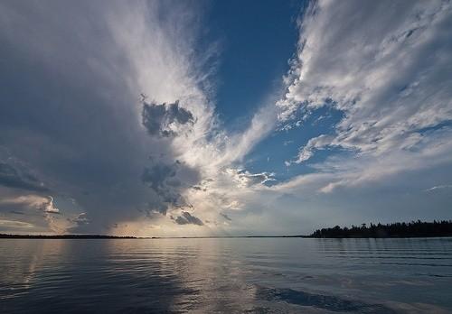 озеро Рейни Миннесота