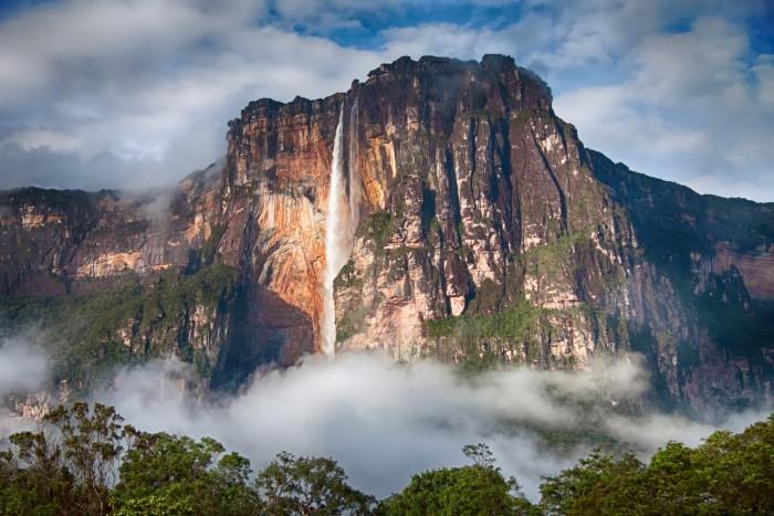 Водопад Анхель (Венесуэла)