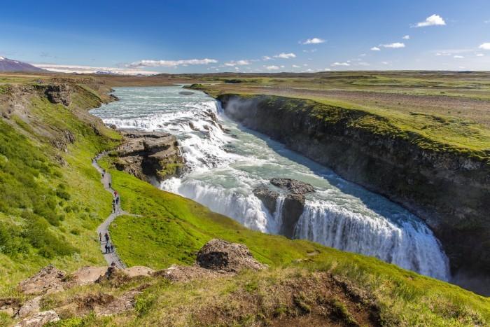 Водопад Гюдльфосс (Исландия)