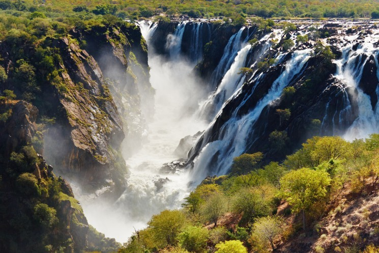 Водопад Руакана (Намибия)