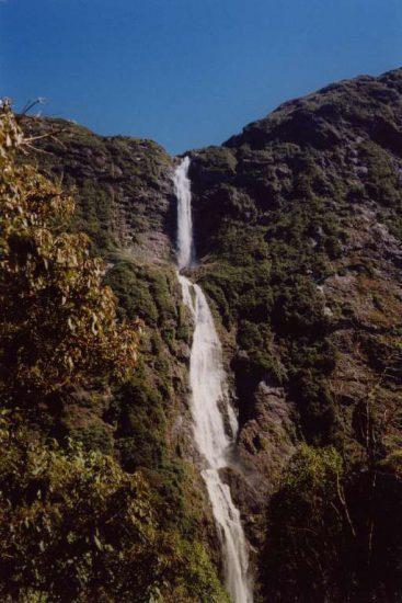 Водопад Сазерленд (Новая Зеландия)