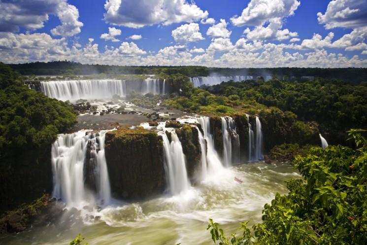 Водопады Игуасу (Бразилия, Аргентина, Парагвай)