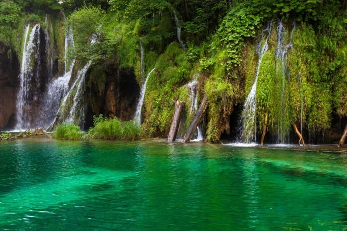 Водопады Плитвицких озер (Хорватия)