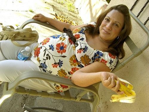 Беременная женщина в возрасте