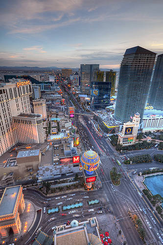 бульвар Strip Лас-Вегас