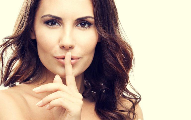 С кем и о чем можно секретничать женщине