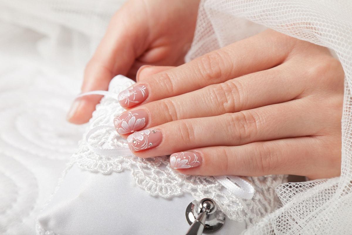 Свадебный аквариумный дизайн ногтей Как выбрать свадебный маникюр