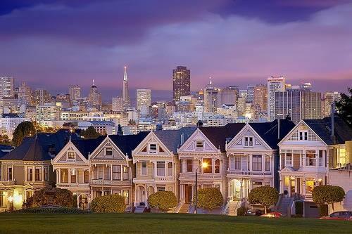 Дома в Сан-Франциско