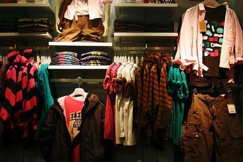 одежда Pull & Bear в бутике