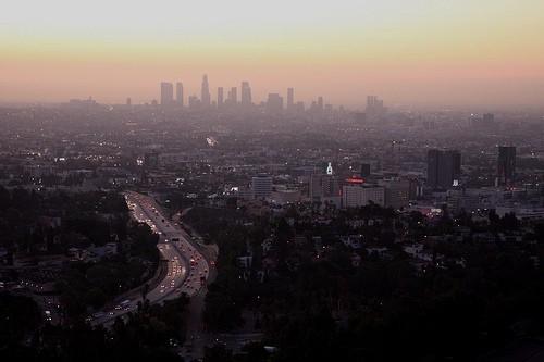 утро в Лос-Анжелесе