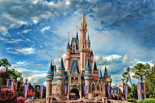замок Принцессы Walt Disney World