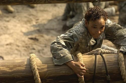 женщина в армии США