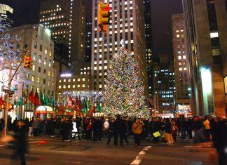 7 лучших рождественских елок в Нью-Йорке