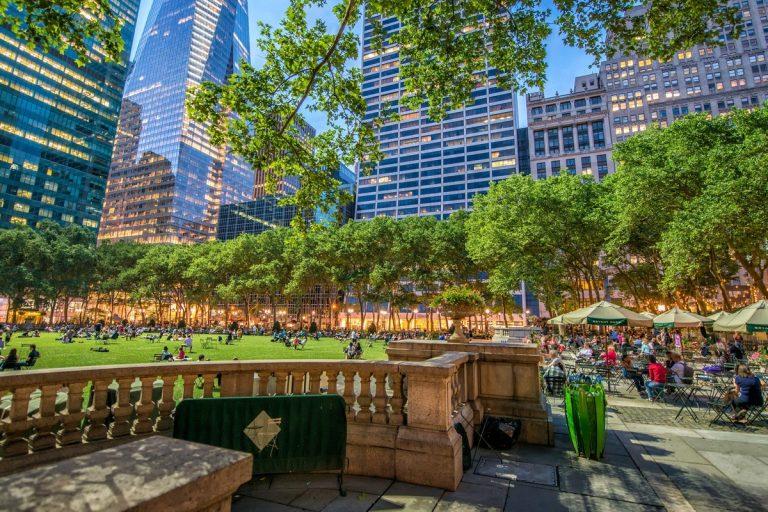 7 лучших парков Нью–Йорка