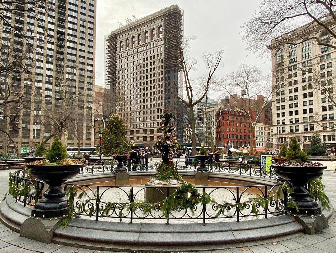 Парк Мэдисон – Сквер Нью–Йорка