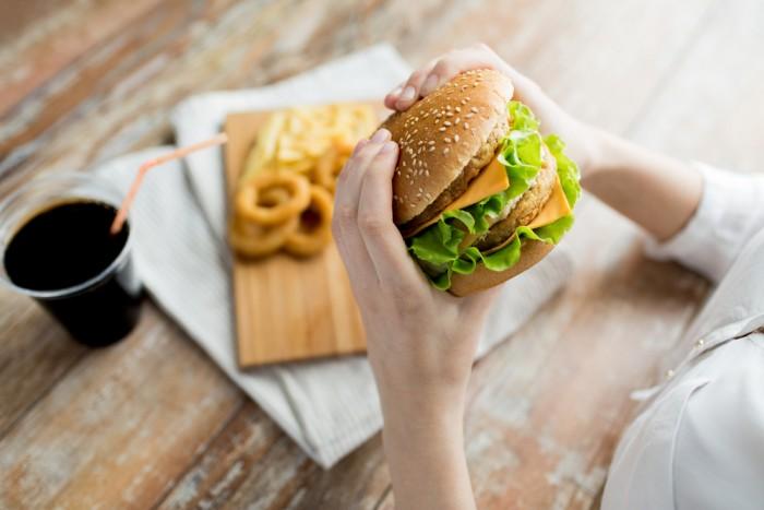 Вредная еда (фастфуд)