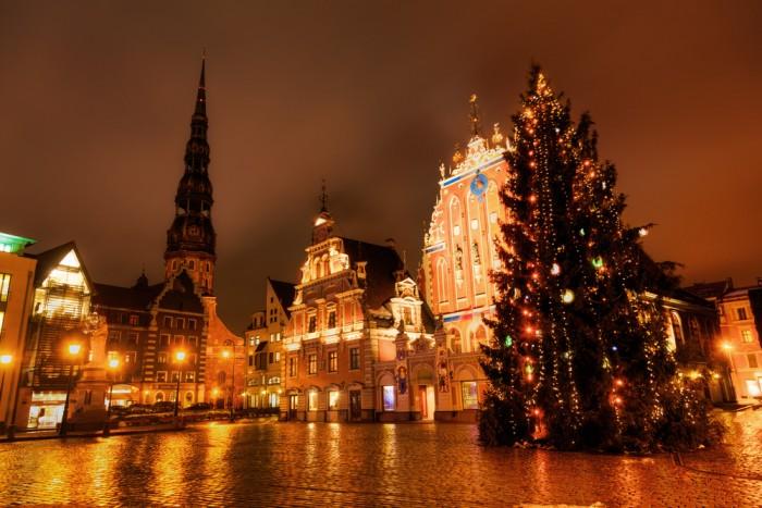 Рождество в Латвии