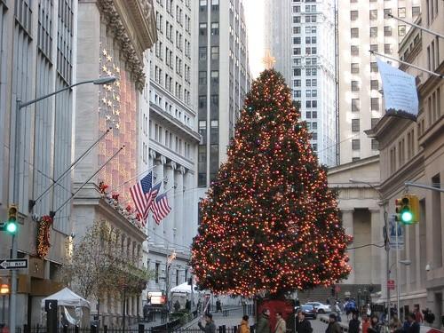главная елка Нью-Йорка