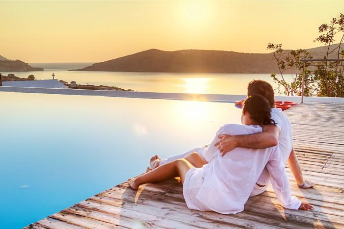 Муж с женой в отпуске