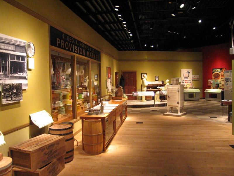 Музей Хормел Спам в городе Остин, штат Миннесота, США