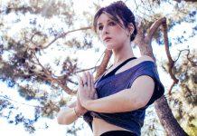 Shenae Sonya Grimes yoga