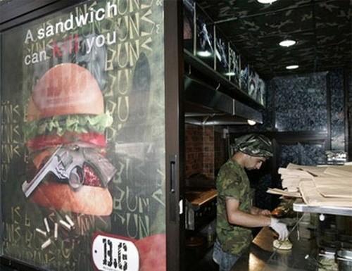 Ресторан Булки и пушки Ливан