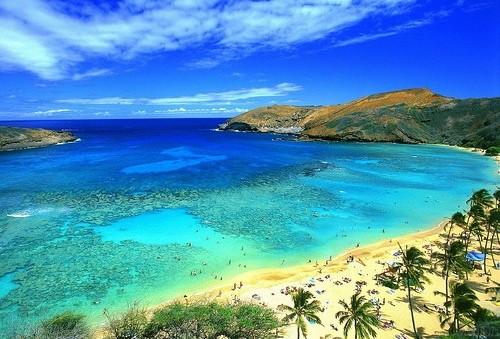 Пляж на Гавайах
