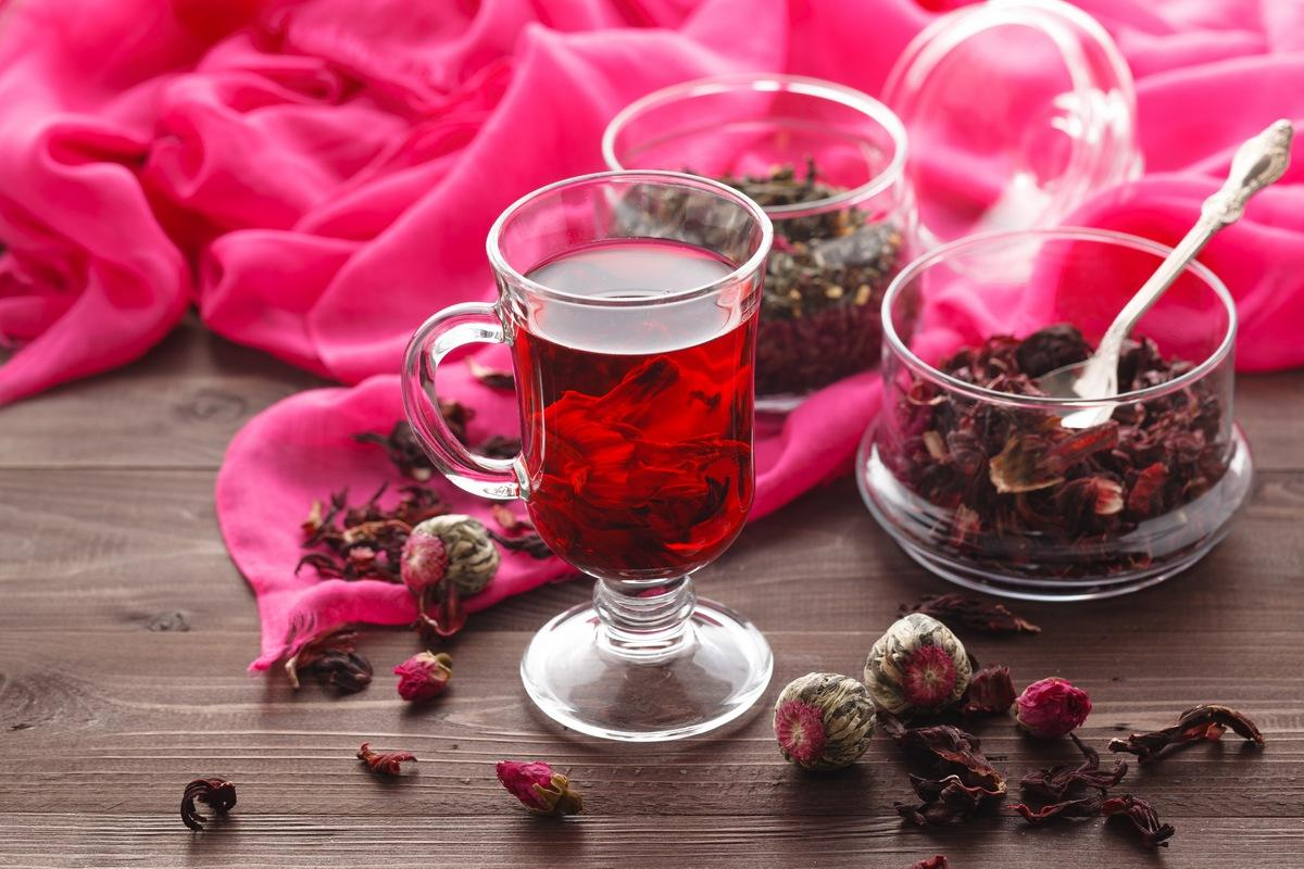 Hibiskus roter Tee