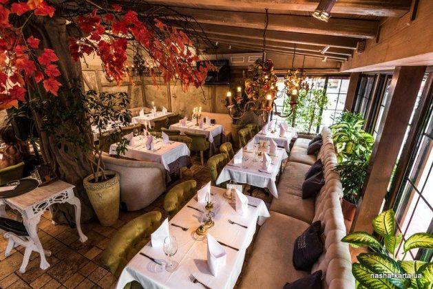 Ресторан «Ришелье» 12 лучших ресторанов в центре Киева 1