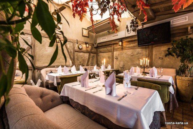 Ресторан «Ришелье» 12 лучших ресторанов в центре Киева 2