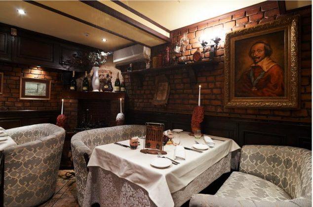 Ресторан «Ришелье» 12 лучших ресторанов в центре Киева 3