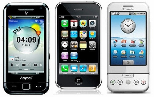Три смартфона