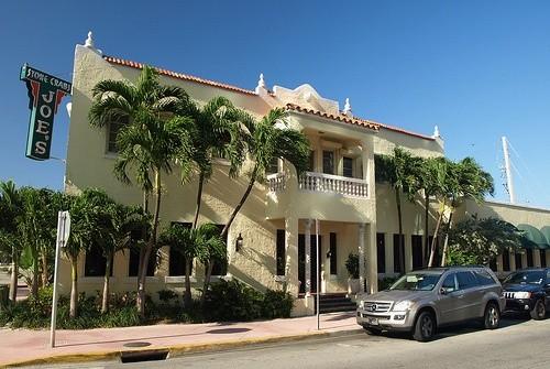 Ресторан Каменный краб Джо, Майами-Бич