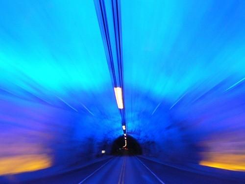 Автодорожный тоннель в Норвегии
