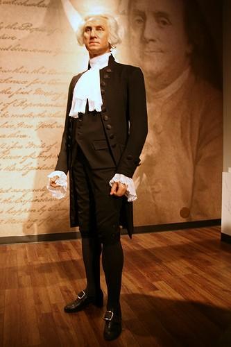 Восковая фигура Джорджа Вашингтона
