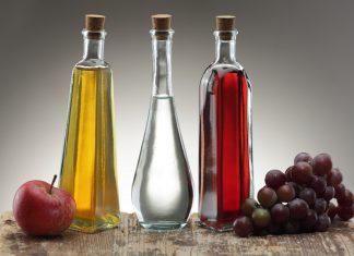 Яблочный, виноградный и обычный уксус