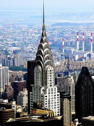 Крайслер-билдинг в Нью-Йорке
