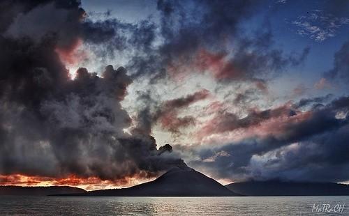 1883 год, извержение Кракатау